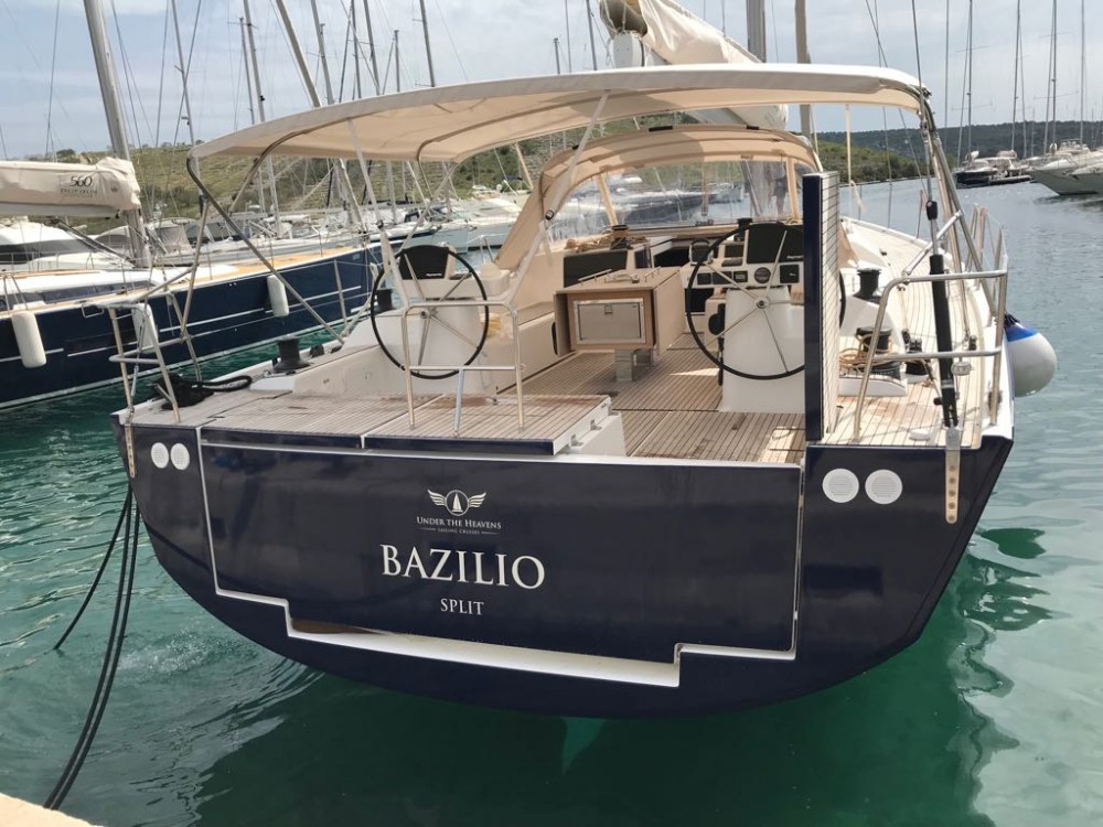 Rental yacht Primošten - Dufour Dufour 56 Exclusive - 5 + 1 cab. on SamBoat
