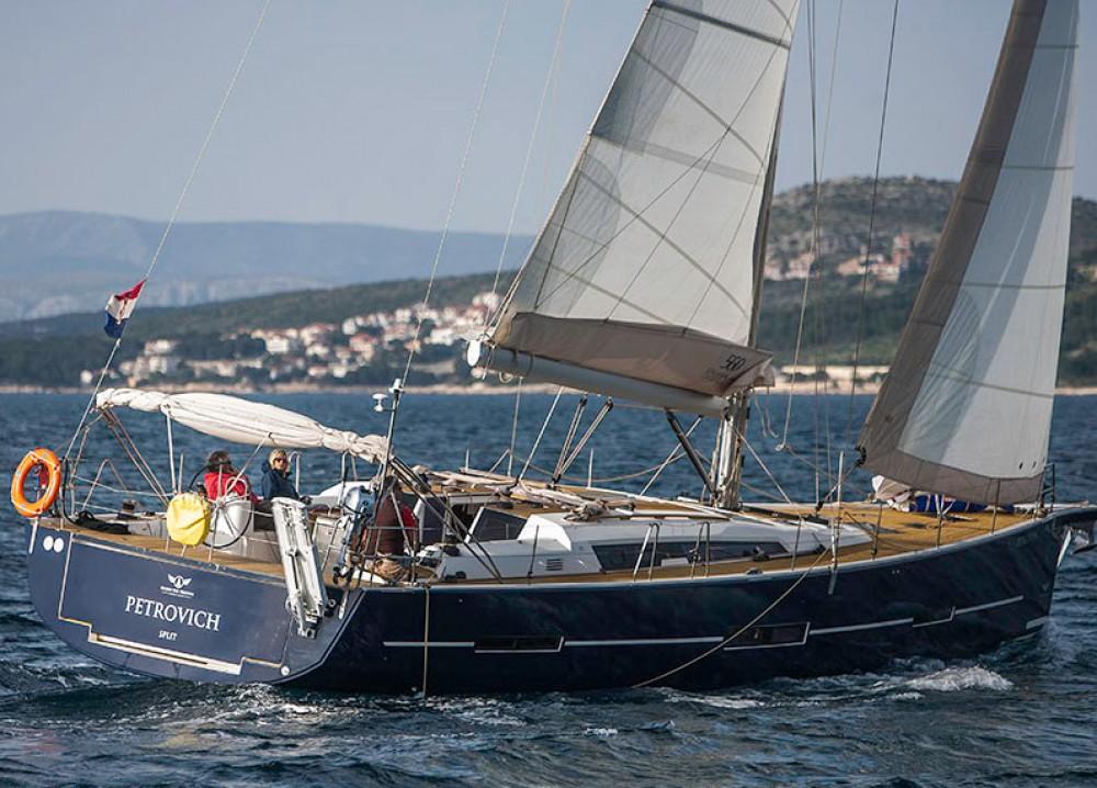 Boat rental Primošten cheap Dufour 56 Exclusive - 5 + 1 cab.