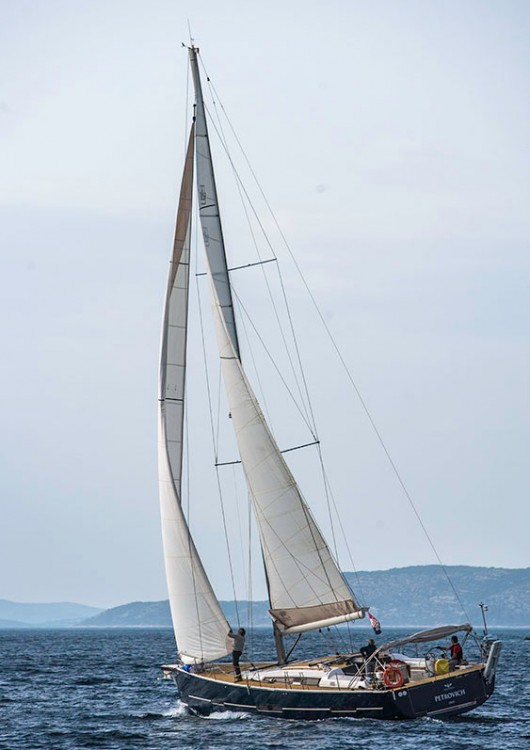 Rental Sailboat Dufour with a permit