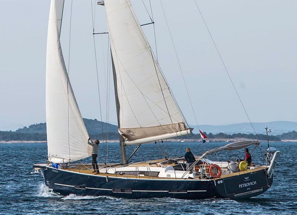 Rental Sailboat in Primošten - Dufour Dufour Exclusive 56 - 4 + 1 cab.