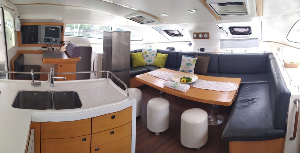 Rental Catamaran in Cartagena - Nautitech Rochefort Nautitech 482 - 4 + 2 cab.