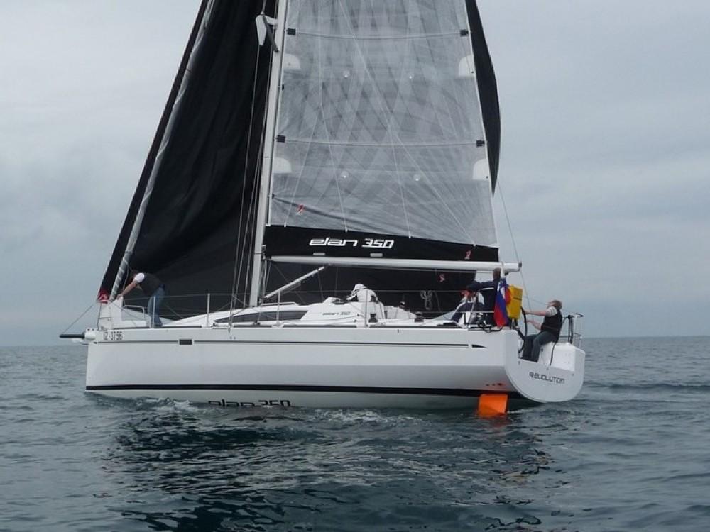 Rental Sailboat in Croatia - Elan Elan 350 Performance - 3 cab.