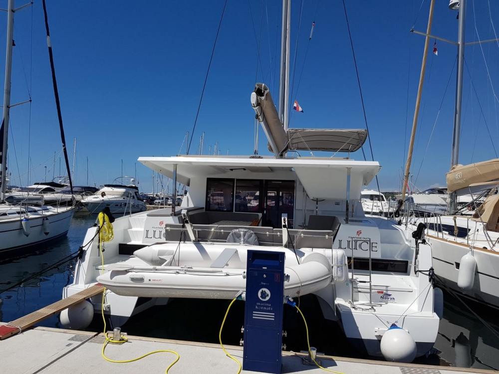Boat rental Fountaine Pajot Lucia 40 in  on Samboat