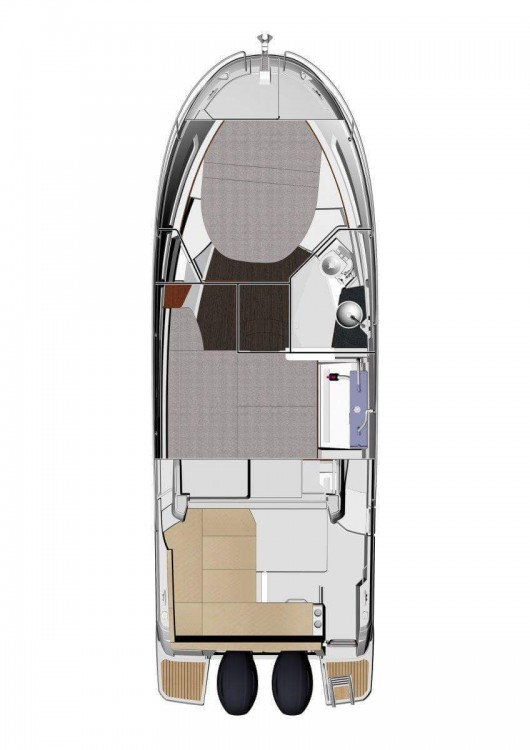 Jeanneau Merry Fisher 895 between personal and professional Croatia