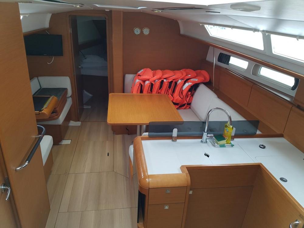 Boat rental Croatia cheap Sun Odyssey 409