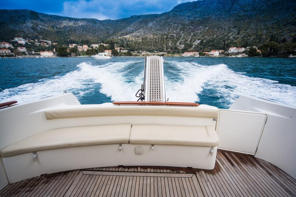 Boat rental Croatia cheap Prestige 36 Fly