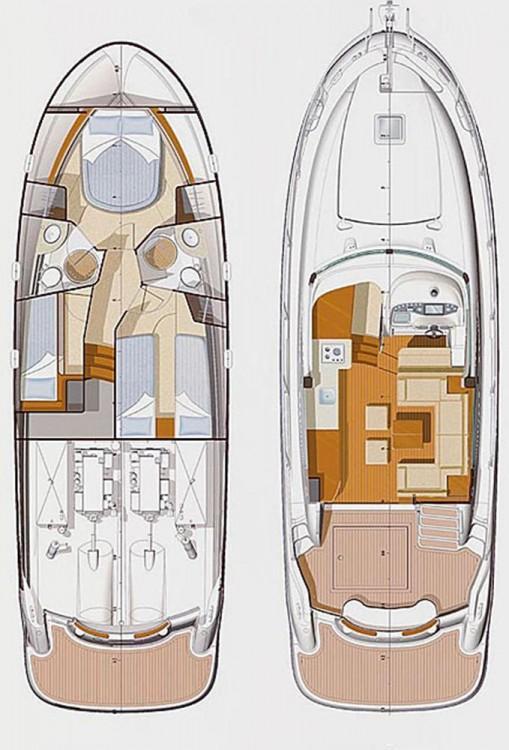 Rental Motorboat in Croatia - Jeanneau Prestige 42 Fly