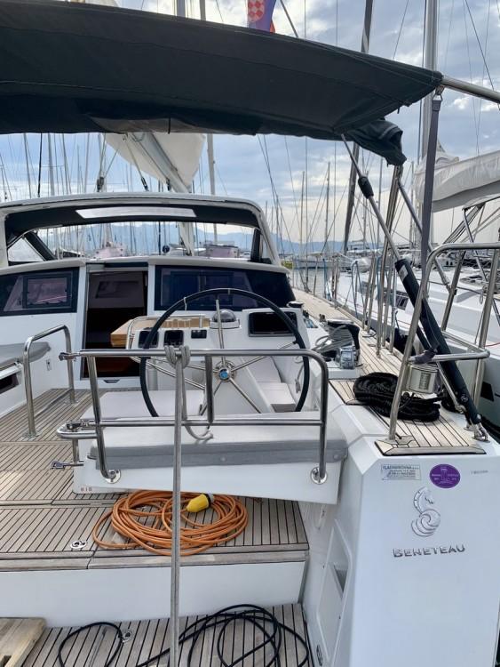 Rental Sailboat in Croatia - Bénéteau Sense 55