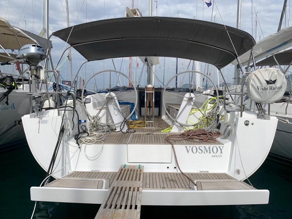 Boat rental Hanse Hanse 445 in Croatie on Samboat