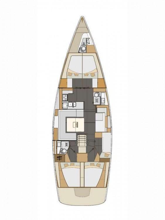 Boat rental Elan Elan Impression 50  in  on Samboat