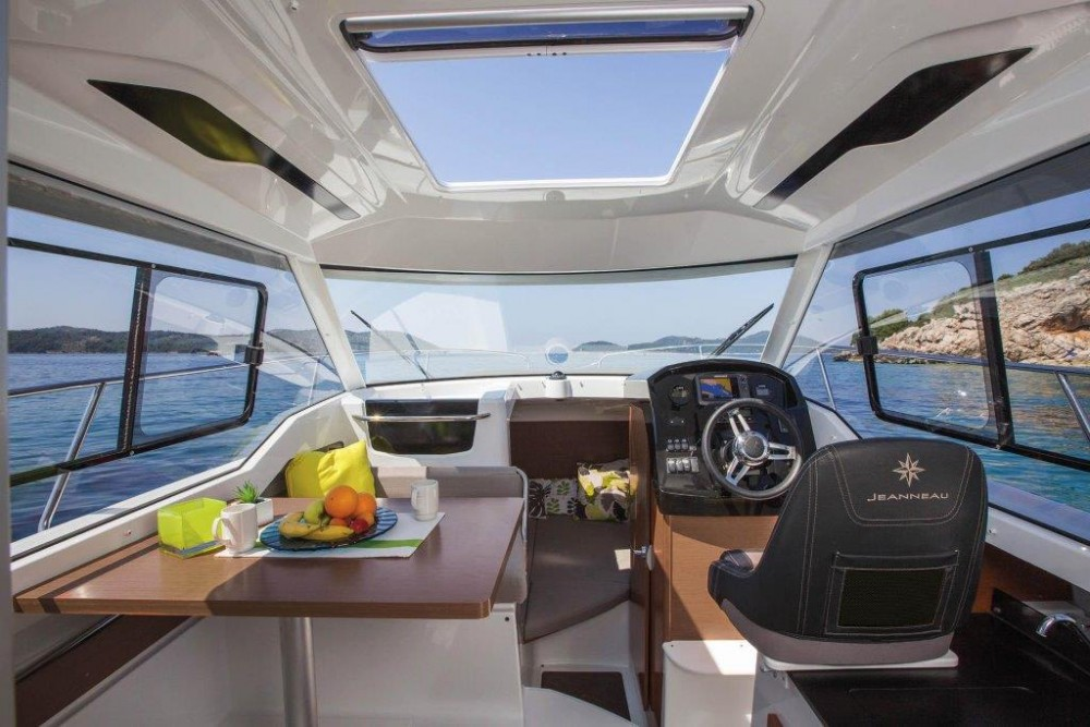 Boat rental Croatia cheap Merry Fisher 795 Legend