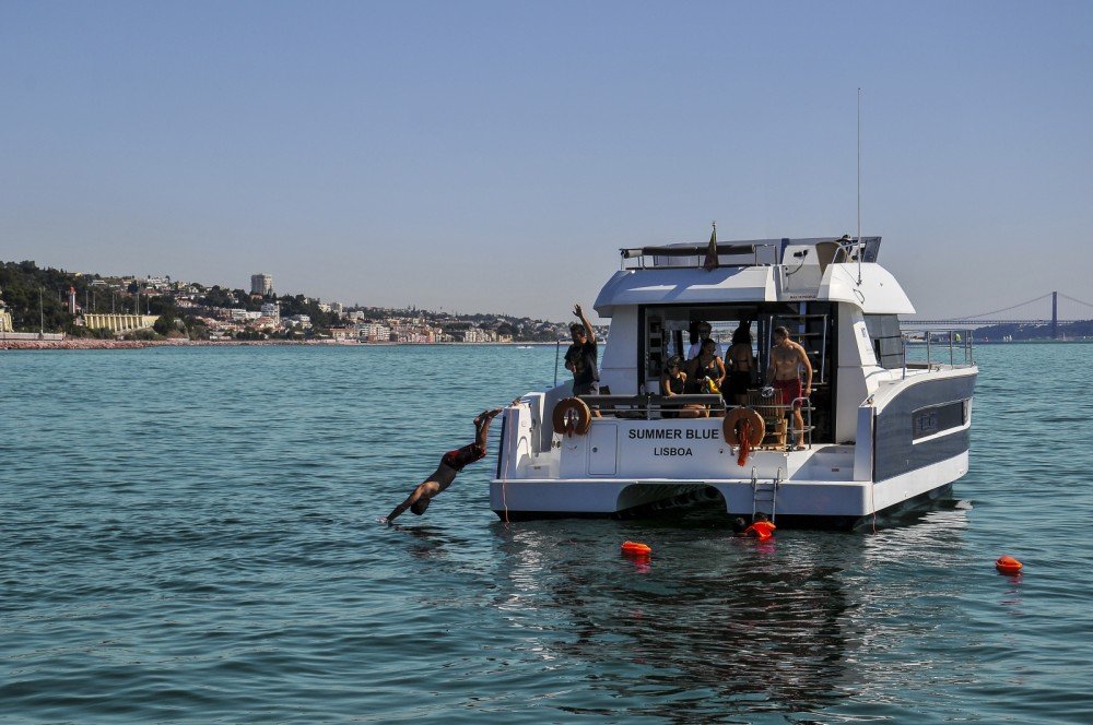Catamaran for rent Lisbon at the best price