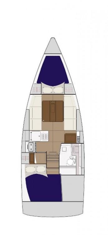 Boat rental Dufour Dufour 310 Grand Large in Croatia on Samboat