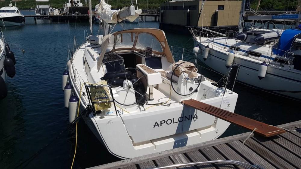 Boat rental Croatia cheap Dufour 310 Grand Large