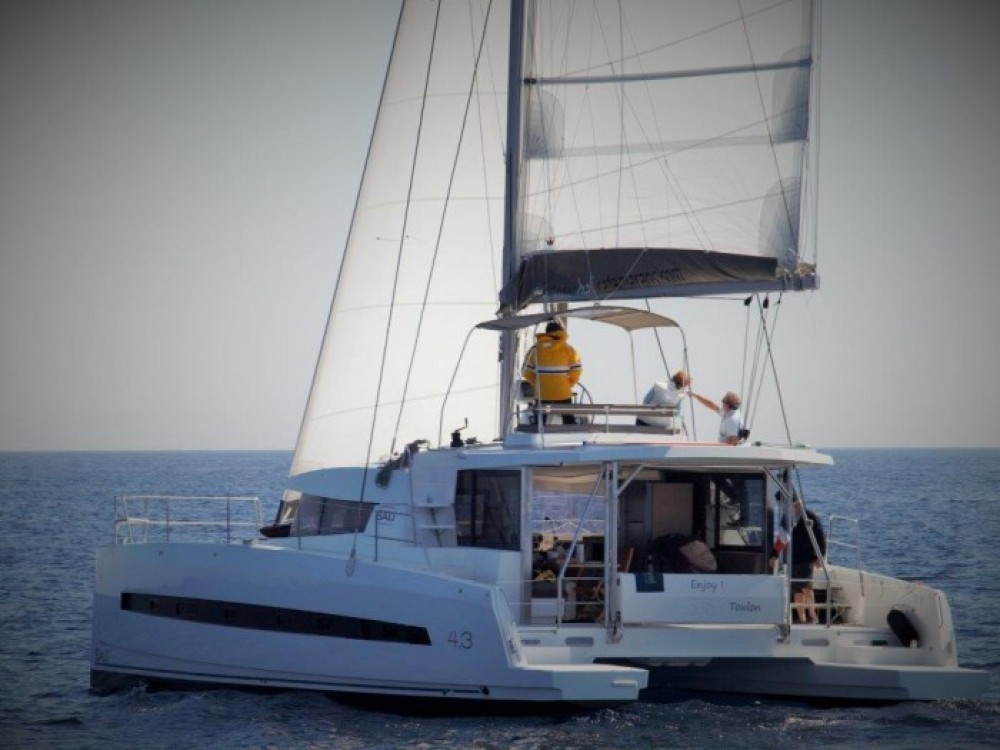 Catana Bali 4.3 - 4 + 2 cab. between personal and professional Peloponnese