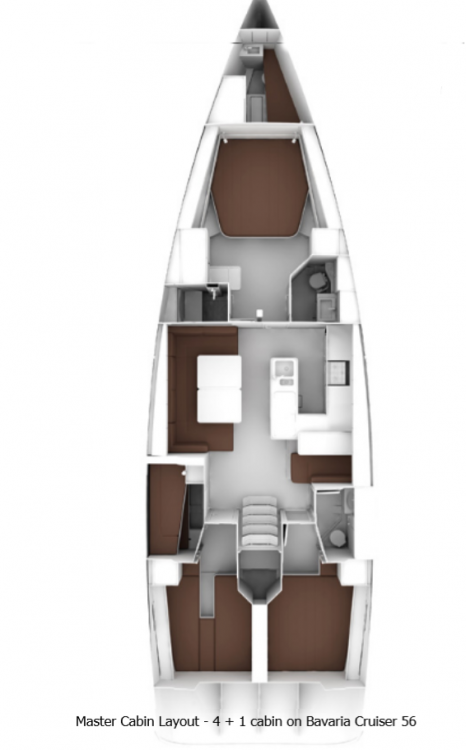 Rent a Bavaria Cruiser 56 Split