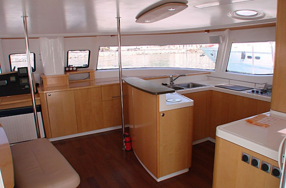 Rent a Fountaine Pajot Salina 48 Peloponnese