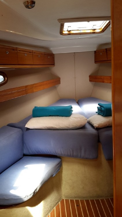 Bavaria Cruiser 39 between personal and professional Peloponnese