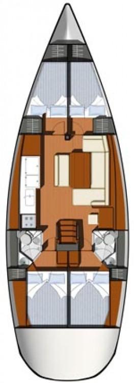 Rental Sailboat in Peloponnese - Jeanneau Sun Odyssey 44i