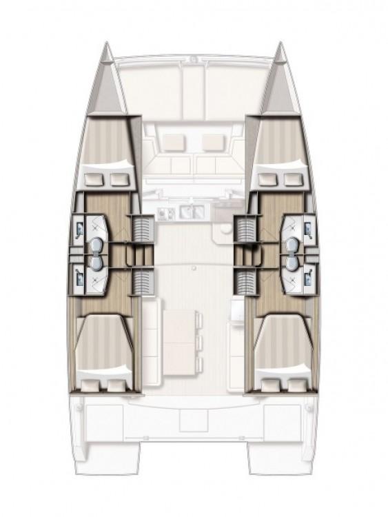 Catamaran for rent Croacia at the best price