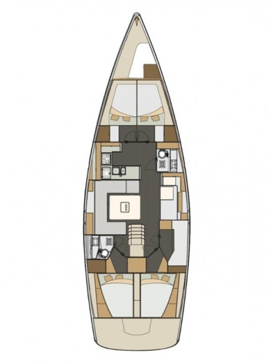 Rental yacht Croatia - Elan Impression 50 on SamBoat