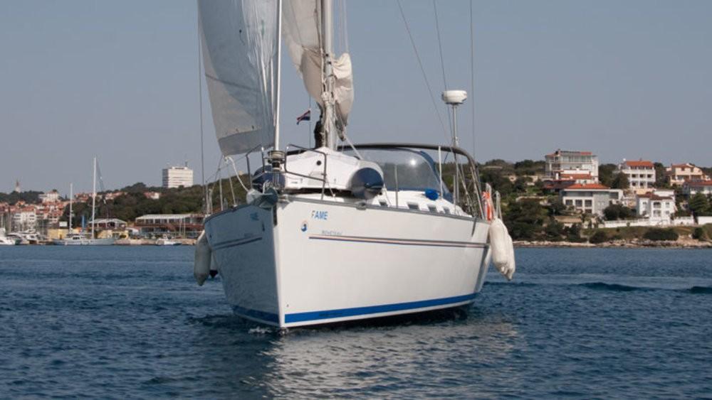 Rental Sailboat in Grad Pula - Bénéteau Cyclades 43.3