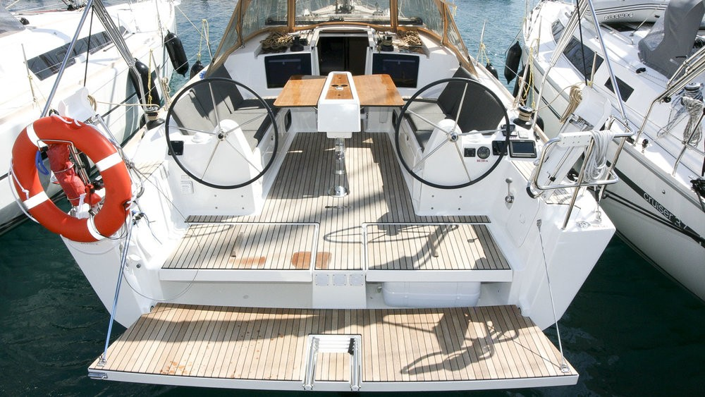 Boat rental Rogoznica cheap Dufour 382 Grand Large