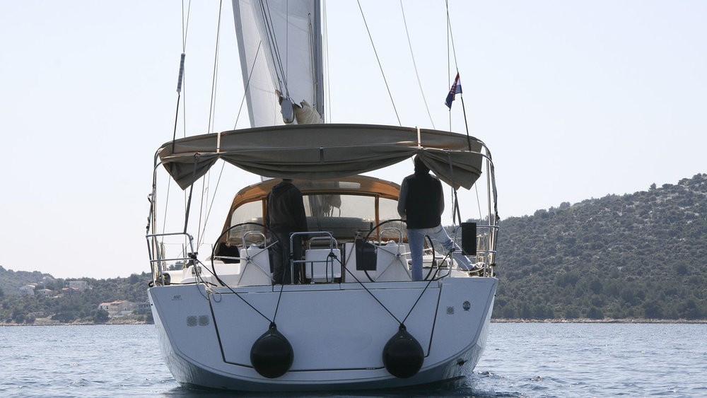 Rental Sailboat in Rogoznica - Dufour Dufour 460 Grand Large