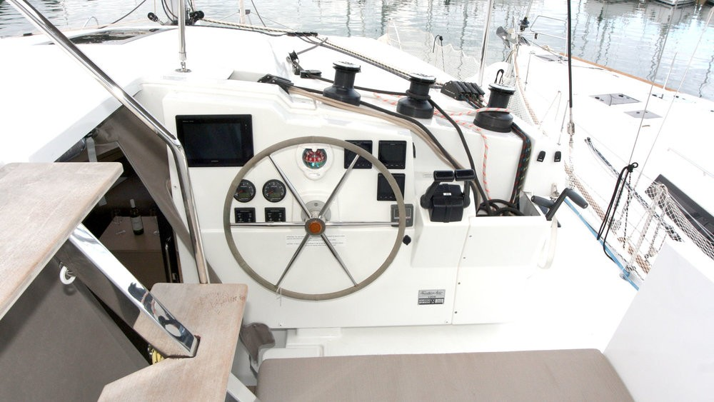 Rent a Fountaine Pajot Lucia 40 Grad Pula