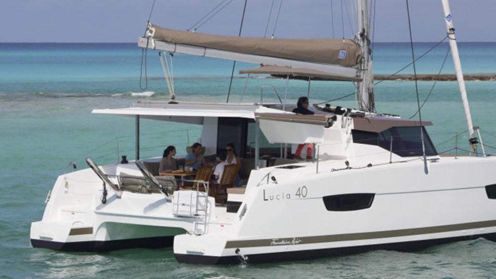 Rental yacht Rogoznica - Fountaine Pajot Lucia 40 on SamBoat