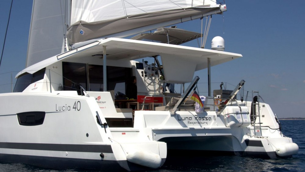 Fountaine Pajot Fountaine Pajot Lucia 40 between personal and professional Grad Pula