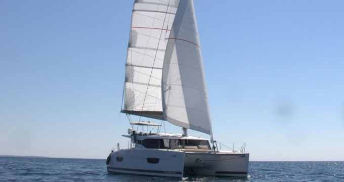 Rent a Fountaine Pajot Lucia 40 Pula
