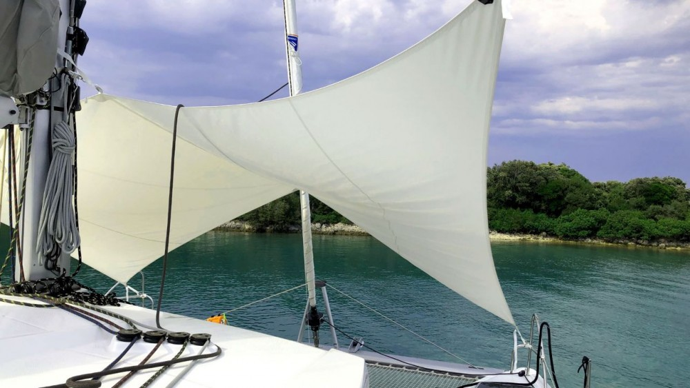 Boat rental Pula cheap Fountaine Pajot Lucia 40