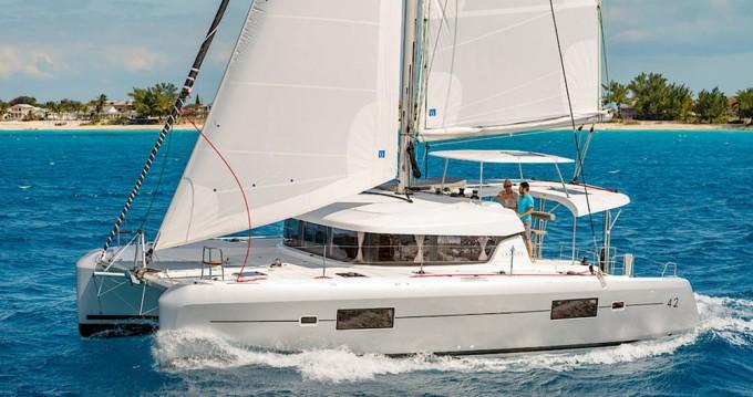 Rental Catamaran in Rogoznica - Lagoon Lagoon 42 OW