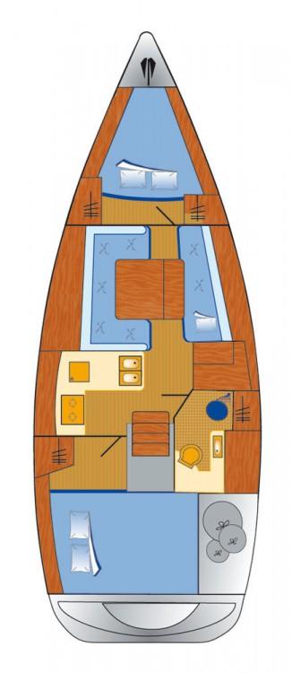 Rental Sailboat in Rogoznica - Bénéteau Oceanis 34