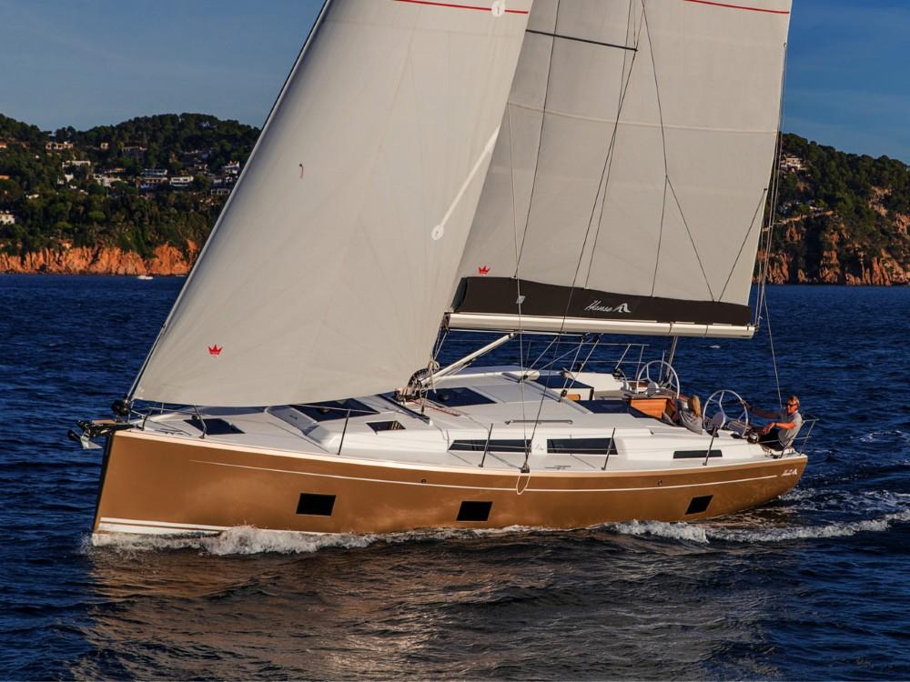 Rental yacht Muğla - Hanse Hanse 418 - 3 cab. on SamBoat