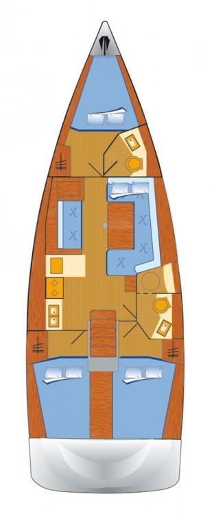 Boat rental Bénéteau Oceanis 41 in Rogoznica on Samboat