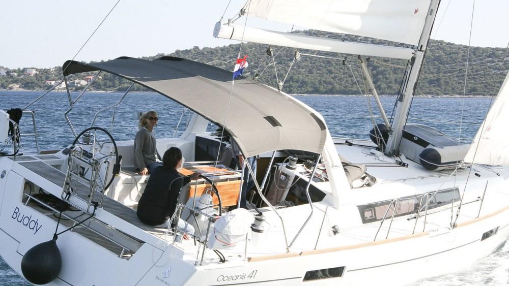 Rental Sailboat in Rogoznica - Bénéteau Oceanis 41