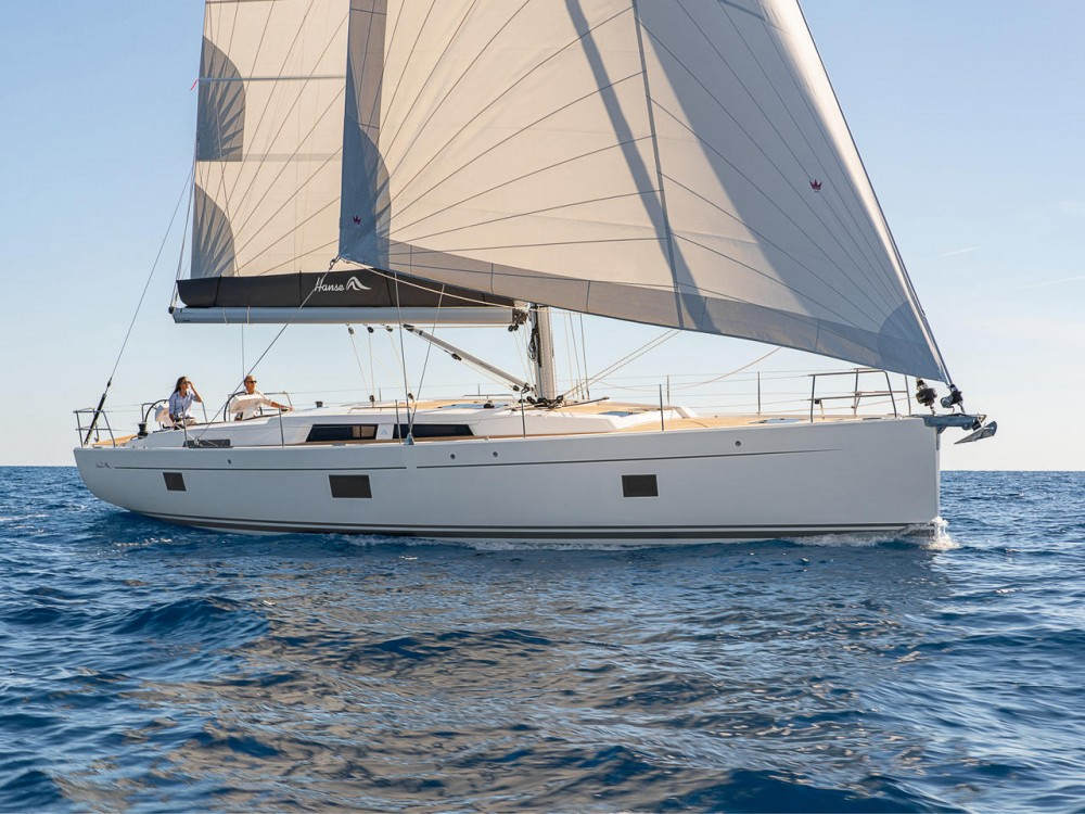Rental Sailboat in Muğla - Hanse Hanse 508 - 5 + 1 cab.
