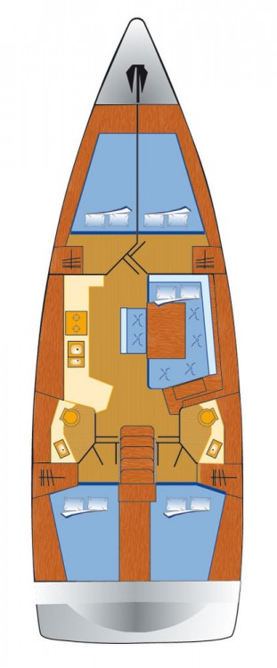 Boat rental Bénéteau Oceanis 45 in Grad Pula on Samboat