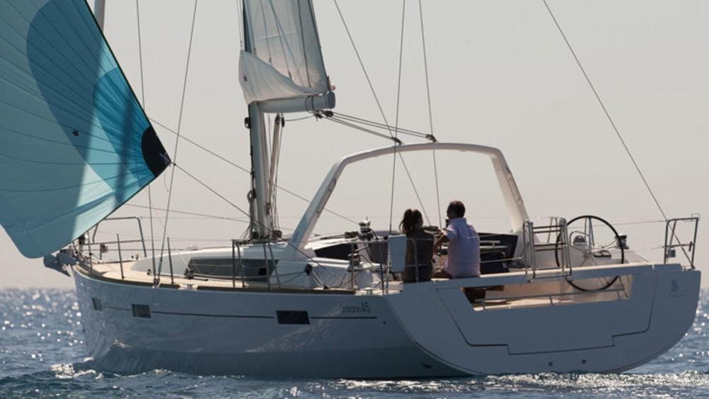 Boat rental Grad Pula cheap Oceanis 45