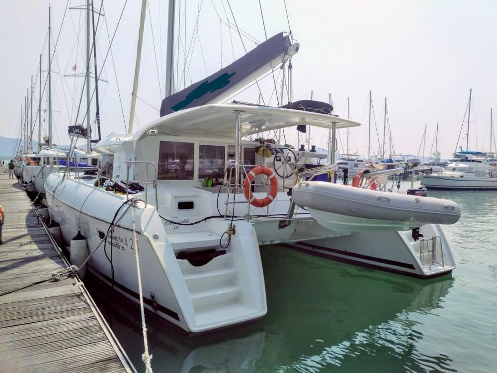 Rental Catamaran in Baan Salak Phet - Lagoon Lagoon 421 - 4 + 1 cab.