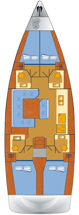 Jeanneau Sun Odyssey 479 between personal and professional Rogosnizza