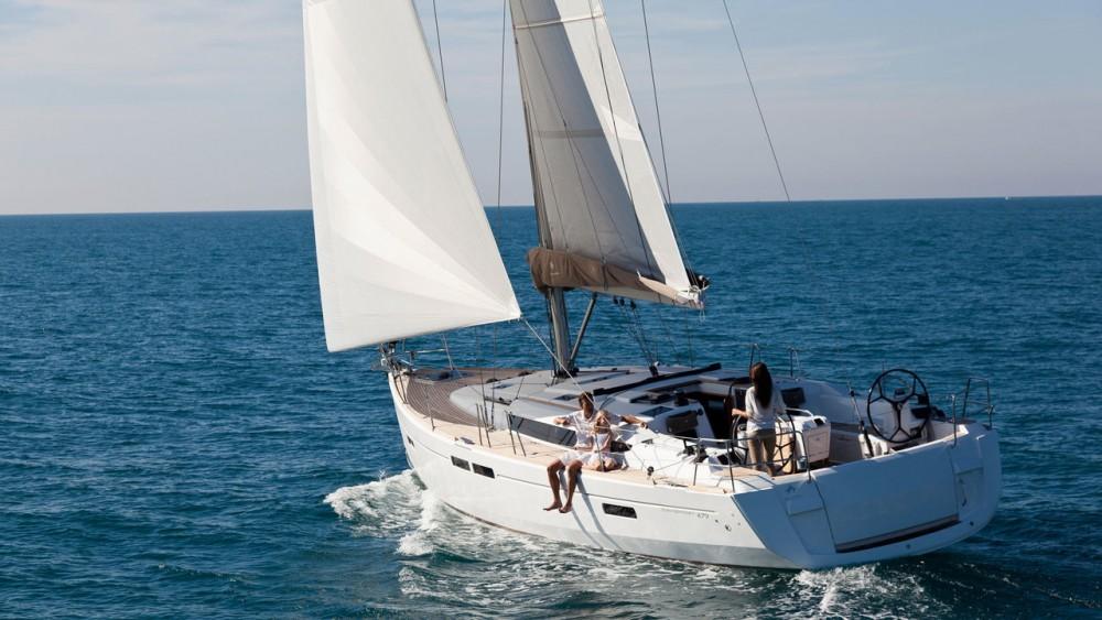 Rental yacht Rogosnizza - Jeanneau Sun Odyssey 479 on SamBoat