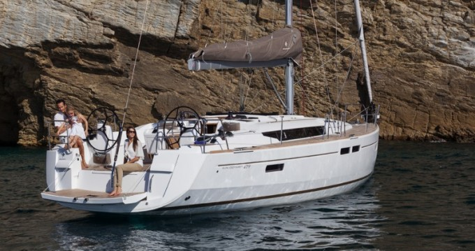 Jeanneau Sun Odyssey 479 between personal and professional Punat