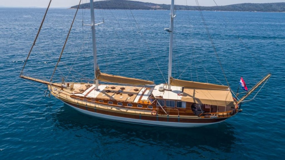 Rental Sailboat in Croatia - Unknown Angelica