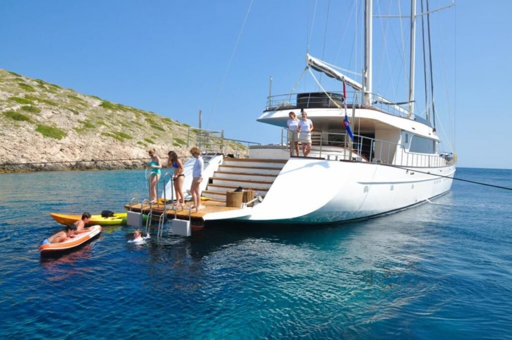 Rental Sailboat in Croatia - Unknown Lady Gita
