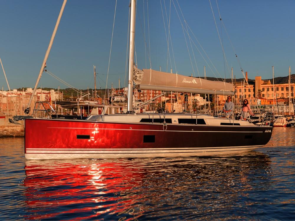 Boat rental Croatia cheap Hanse 388