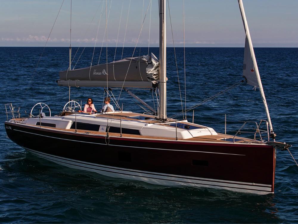 Rental yacht Marina Kaštela - Hanse Hanse 388 on SamBoat
