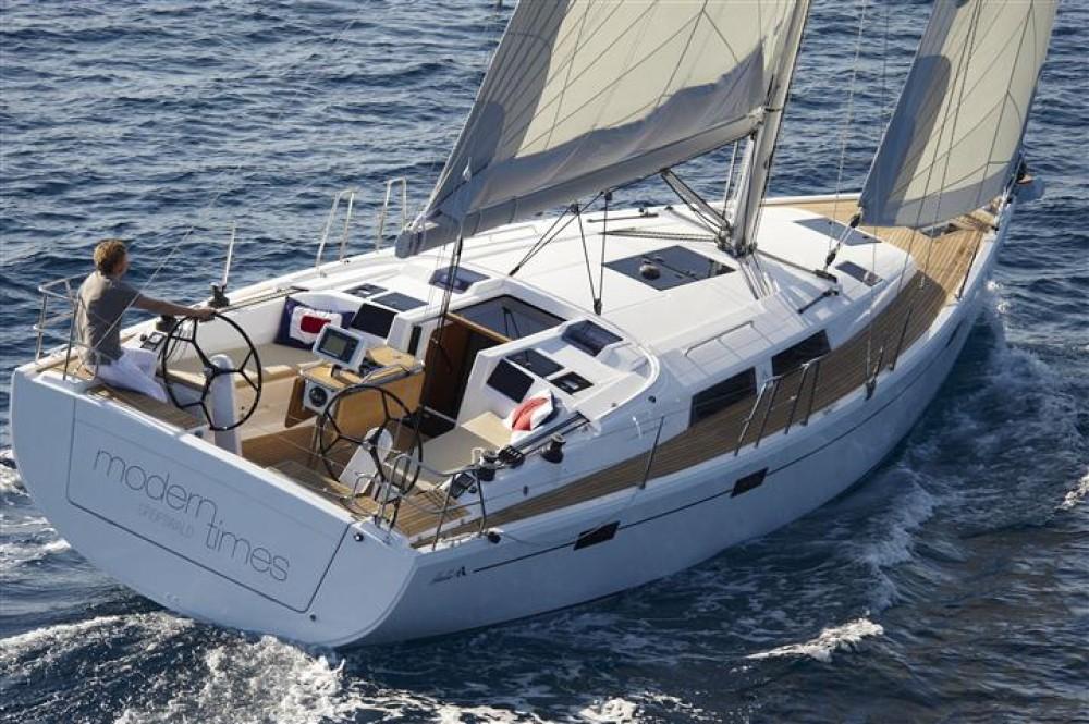 Rental Sailboat in Croatia - Hanse Hanse 415